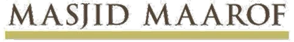 Masjid Maarof - Visioned Tech-Hive of Knowledge